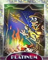 Burnin Stacks Platinum Badge - Rainy Day Spider Solitaire HD