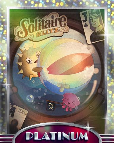 Porthole Party Platinum Badge - Solitaire Blitz