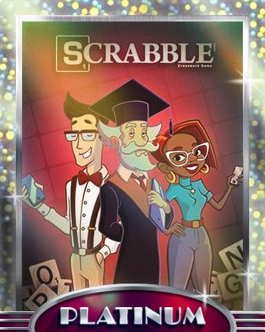 Savvy Spellers Platinum Badge - SCRABBLE