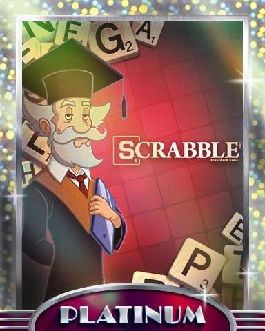 Meet The Professor Platinum Badge - SCRABBLE