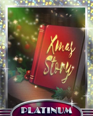 Holiday Story Platinum Badge - StoryQuest