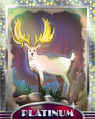 Golden Antlers Platinum Badge - StoryQuest