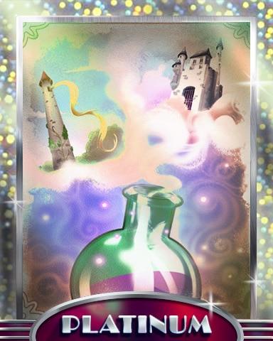 Cloudy Potion Platinum Badge - StoryQuest