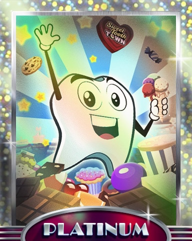 Candy Day Fun Platinum Badge - Sweet Tooth Town