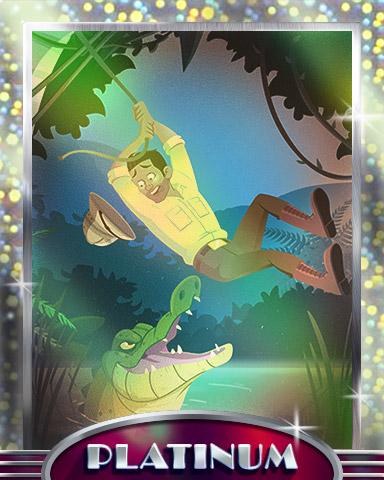 Swamp Swing Platinum Badge - Tri-Peaks Solitaire HD