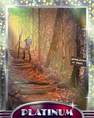 Going The Distance Platinum Badge - Vanishing Trail