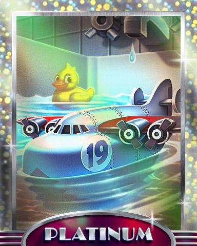 Good Clean Fun Platinum Badge - World Class Solitaire HD