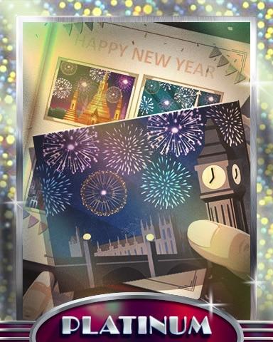 London New Years Platinum Badge - StoryQuest