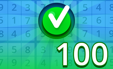 Easy IV Badge - Pogo Daily Sudoku