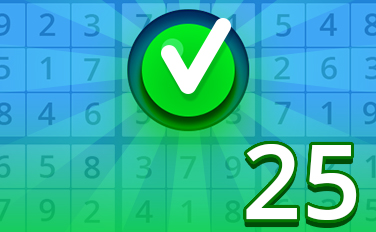 Easy I Badge - Pogo Daily Sudoku