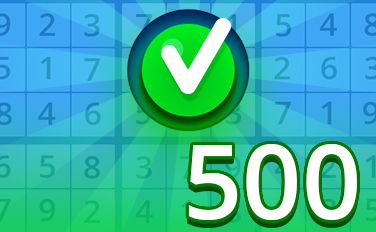 Easy VI Badge - Pogo Daily Sudoku