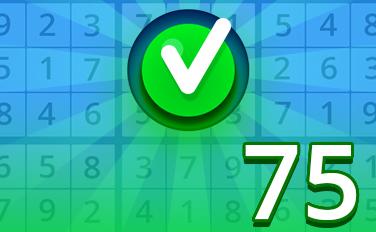 Easy III Badge - Pogo Daily Sudoku