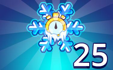 Time Freeze II Badge - Pogo Daily Sudoku