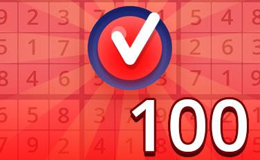Hard IV Badge - Pogo Daily Sudoku