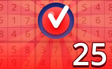 Hard I Badge - Pogo Daily Sudoku
