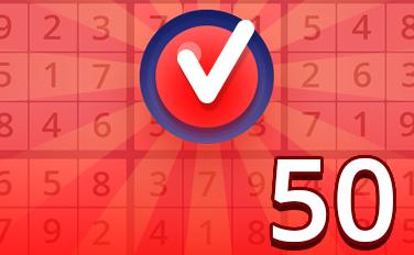 Hard II Badge - Pogo Daily Sudoku