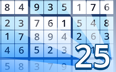 Puzzles II Badge - Pogo Daily Sudoku