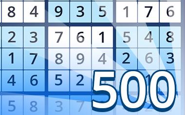 Puzzles VI Badge - Pogo Daily Sudoku