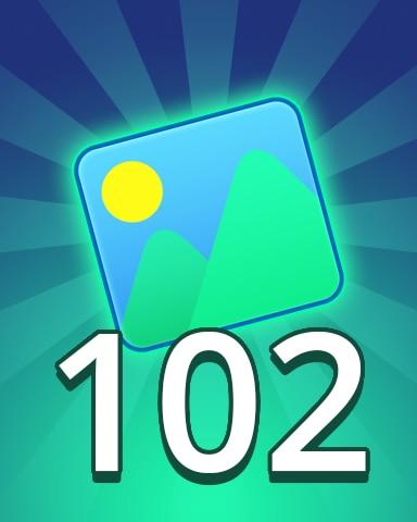 Theme 102 Badge - Pogo Daily Sudoku