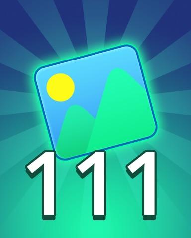 Theme 111 Badge - Pogo Daily Sudoku