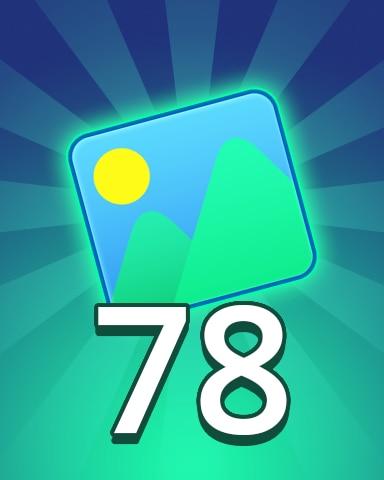 Theme 78 Badge - Pogo Daily Sudoku