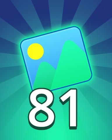 Theme 81 Badge - Pogo Daily Sudoku