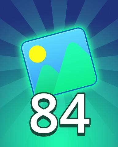 Theme 84 Badge - Pogo Daily Sudoku