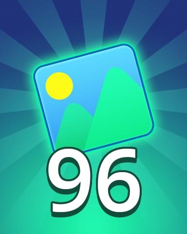 Theme 96 Badge - Pogo Daily Sudoku