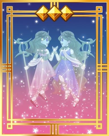 Pogo Gemini Twins Final Gold Badge