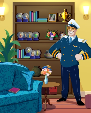 The Captain's Collection Badge - First Class Solitaire HD