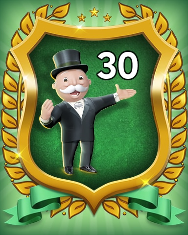 Rank 30 Badge - MONOPOLY Sudoku