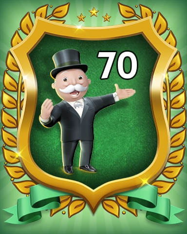 Rank 70 Badge - MONOPOLY Sudoku