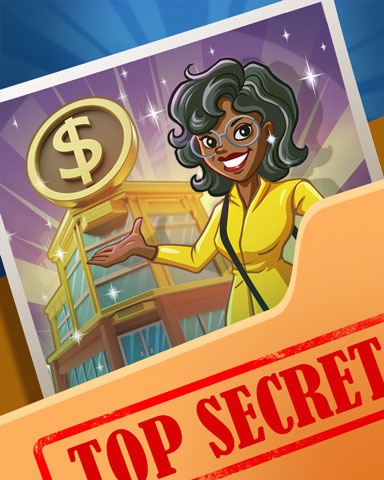 Pogo Diana's Banking Secrets Badge