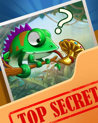 Pogo Chameleon Diet Secrets Badge