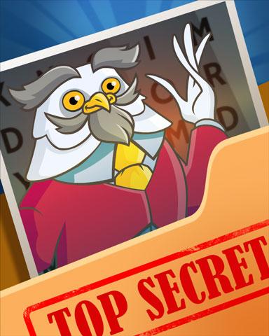 Pogo Sir Feathersworth Secret Badge