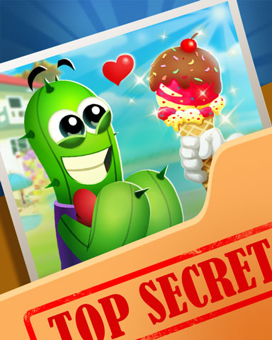 Pogo Spike's Secret Sweets Badge