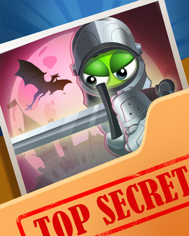 Pogo Dragonslaying Secrets Badge