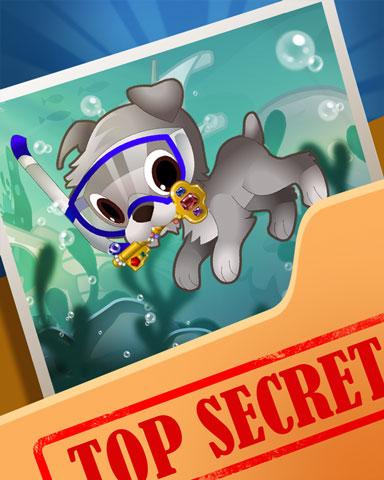 Pogo Doggy Dives Badge