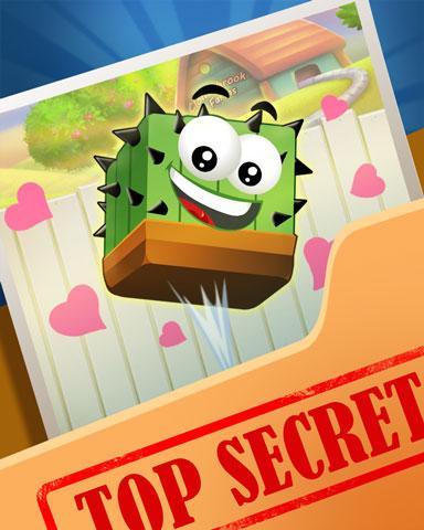 Pogo Cubed Cactus Badge