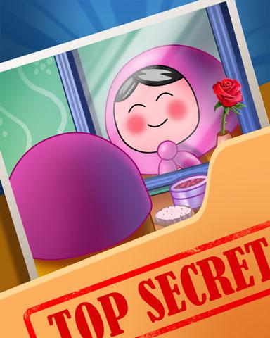 Pogo Dolly's Beauty Secrets Badge