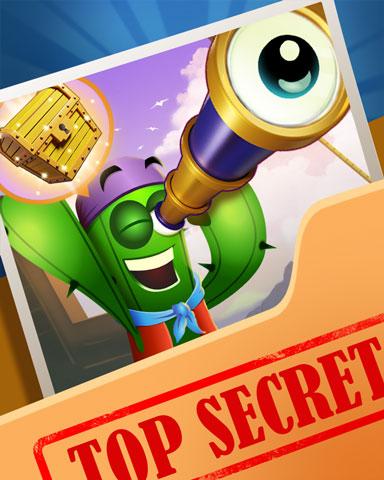 Pogo Spying Treasure Badge