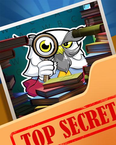 Pogo Owl The Secrets Badge