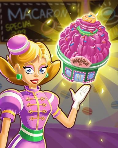 Macaron Shop Tier 3 Badge - Sweet Tooth Town
