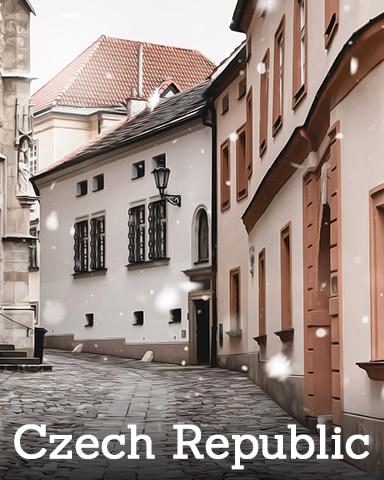 Czech Republic Badge - Winter Wonderland
