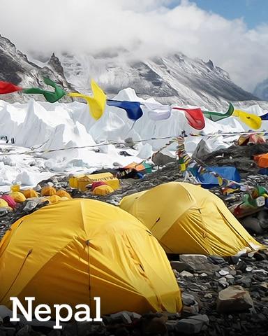 Nepal Badge - Winter Wonderland