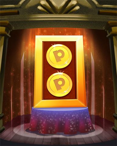 Pogi Bonus 2x Badge - Mahjong Sanctuary