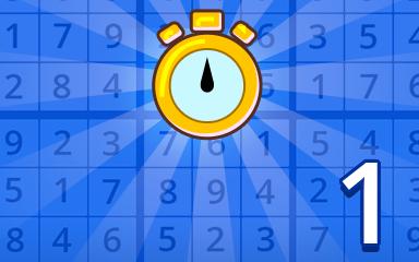 Fast Beginner 1 Badge - Pogo Daily Sudoku