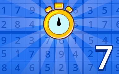 Fast Beginner 7 Badge - Pogo Daily Sudoku
