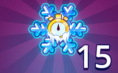 Time Freeze 15 Badge - Pogo Daily Sudoku