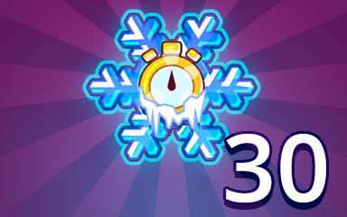 Time Freeze 30 Badge - Pogo Daily Sudoku